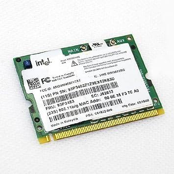 Amazon com: IBM Intel PRO / Wireless 2200 BG PCI Network