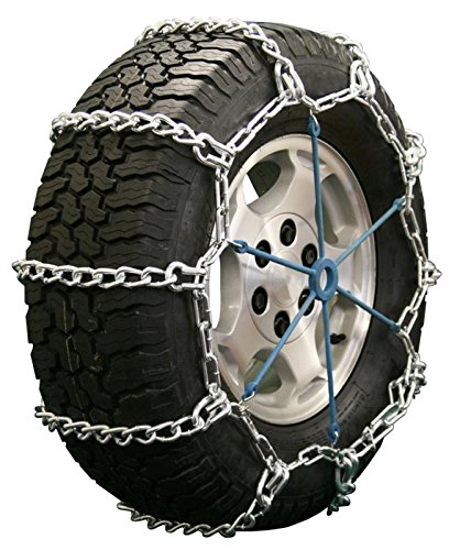 Quality Chain Road Blazer Mud Service Non-Cam 8mm Link Tire Chains (2437HH)