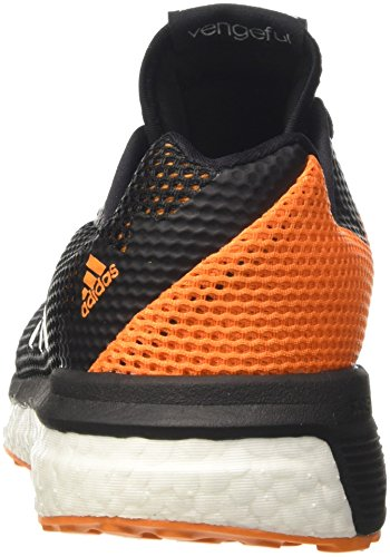 adidas Vengeful M, Scarpe da Corsa Uomo Nero (Borang/Cblack/Ftwwht)