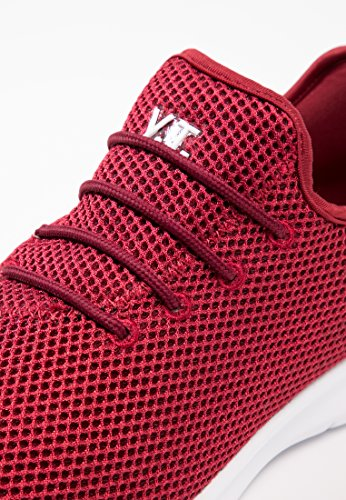 Sportive Nero Slip Scarpe Suola Blu In O Con Yourturn Basse Tessuto Verde on Rosso Sneakers Oliva Sneaker Bianca Mesh dZIAdwxq