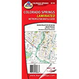 Colorado Springs Laminated Map