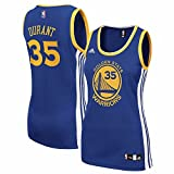 Kevin Durant Golden State Warriors NBA Adidas Women's Blue Official Road Replica Jersey (XL)