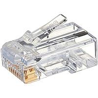 Platinum Tools 100010B EZ-RJ45 Cat6 Connector, 100-Pack