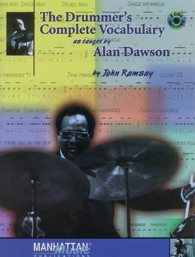The Drummer's Complete Vocabulary As Taught by Alan Dawson - Bk+CDs