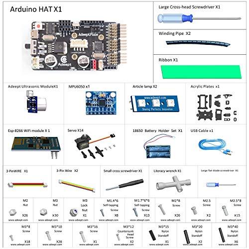 Adeept - Kit de robot aspirador con aplicación Android y Guía ...