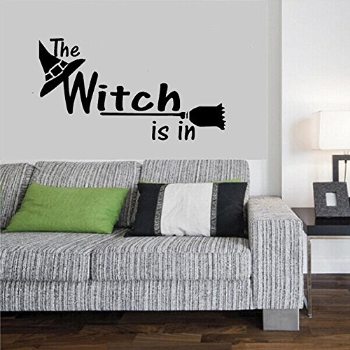 OTTATAT Wall Stickers For Kids 2019,Happy Halloween Household Room Mural Decor Decal Removable New Easy to peel Bridal Shower Holiday Gift for lover Free Deliver Under 5 dollars -