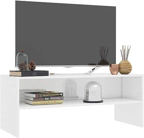 Tidyard- Mesa para TV Diseño Moderno Aparador para TV Mueble TV Salón Mesa Televisión Mueble Comedor