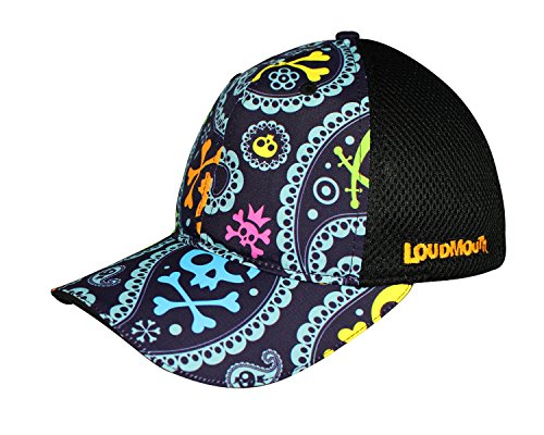 - Headsweats Trucker Hat with Closed Back Mesh and Loudmouth Styling, Jolly Roger, One Size