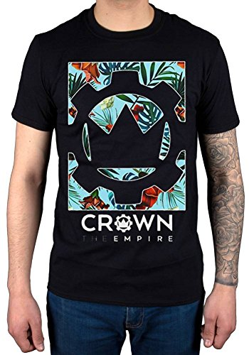 Official Crown The Empire Logo Flower T-Shirt ()