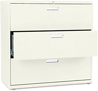 product image for 600 Series Three-Drawer Lateral File, HON693LL 42w x 19-1/4d, Putty