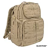 GLORYFIRE Tactical Backpack 3 Day Assault Pack for Outdoor Hiking Camping Trekking Hunting (TT)