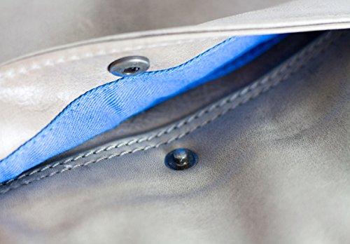 Feldmoser1414 , Borsa Messenger  grigio Grey Used
