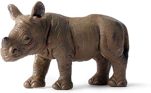 Animali Di Plastica Da Giardino.Scultura Di Animali Da Giardino Figurine Di Animali I Bambini Giocano Figure Di Animali Simulazione Modello Animale Rinoceronte Selvatico Ippopotamo Bisonte Animale Set Giocattolo Di Plastica Solido Amazon It Giardino E Giardinaggio