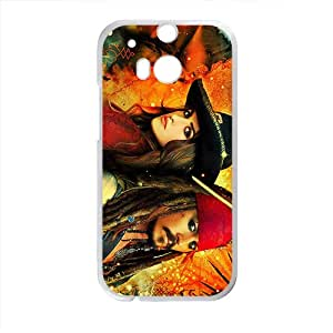 Pirates of the Caribbean Design Pesonalized Creative Cool For HTC M8