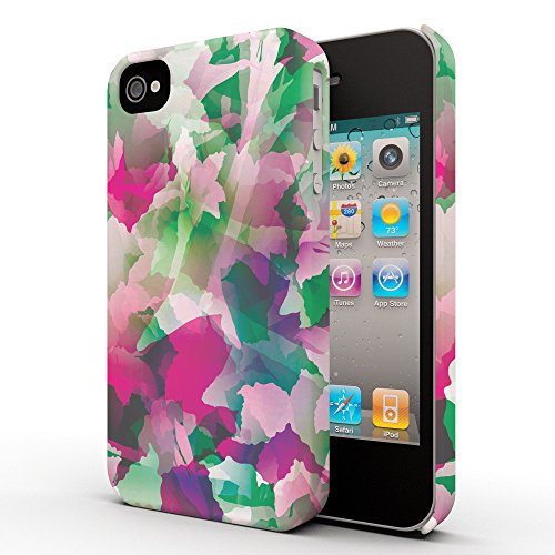 Koveru Back Cover Case for Apple iPhone 4/4S - Bright Petals
