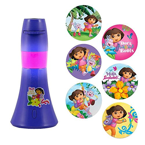 Kids Night Light, Dora The Explorer 6-image Led Cute Indoor Night Light (Cute Dora)