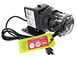 45M5 Stenner Pump - 2.5 to 50.0 gpd adjustable head. Rated at 25 psi. (Pump Head and Motor Only)