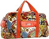 Hadaki Cool Duffel Bag,Hannah's Paisley,one size, Bags Central