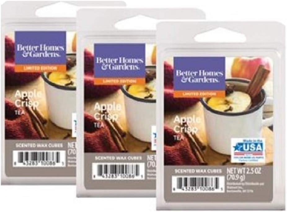 Better Homes & Gardens Scented Wax Cubes (Apple Crisp Tea, 2.5 Oz)