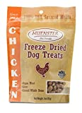 Muenster All Natural Chicken Dog Snacks - Healthy Training Treats for Your Picky Pup -  Raw Diet Friendly - Freeze Dried for Freshness - Proudly Made In USA