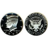1993 S US Mint Deep Cameo Kennedy Proof Half DCAM