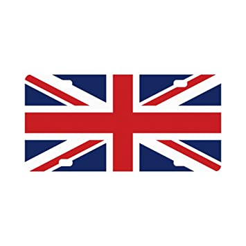 Amazon.com : Stylish Union Jack UK British Flag Classic Car ...