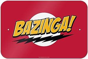 GRAPHICS & MORE The Big Bang Theory Sheldon Bazinga Home Business Office Sign