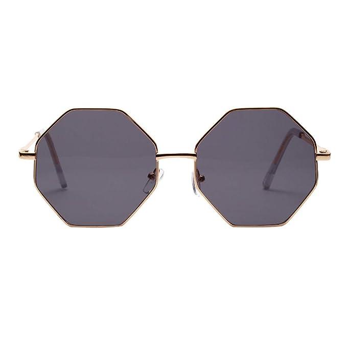 Amazon.com: Gafas de sol para mujer, estilo vintage, Huazi 2 ...