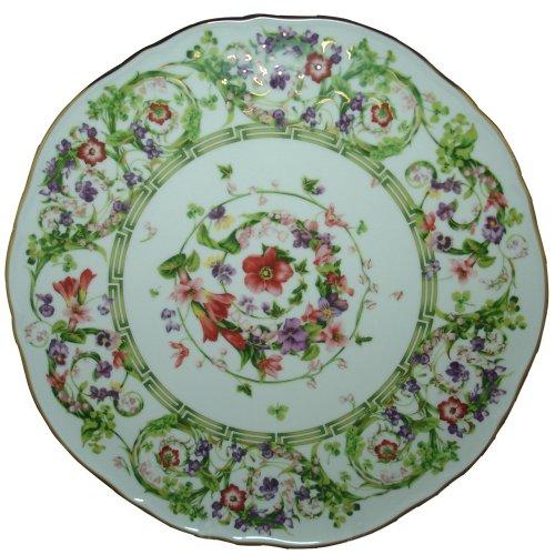 (Versace by Rosenthal Flower Fantasy 12-2/3-Inch Tart Platter)
