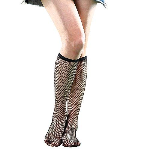 Anlaey Fishnet Tights Black White fishnets Stockings Pantyhose for Women Girls