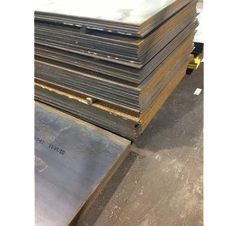 """1//4/"""" .250 HRO Steel Sheet Plate 12/"""" x 12/"""" Flat Bar A36"""
