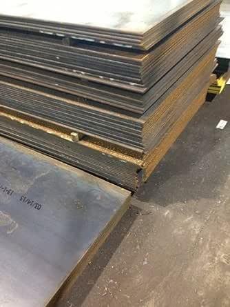"""1/""""  HRO Steel Sheet Plate 6/"""" x 6/"""" Flat Bar A36 grade"""