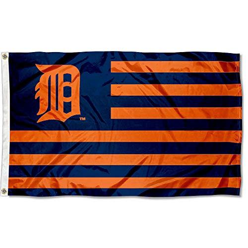 Detroit Tigers Flag - WinCraft MLB Detroit Tigers Nation Flag 3x5 Banner