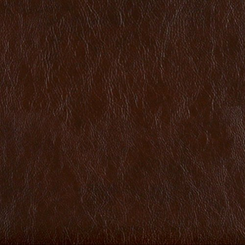 - G477 Chestnut Brown Upholstery Grade Recycled Leather (Bonded Leather) by The Yard