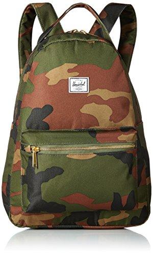 (Herschel Nova Mid-Volume Backpack, Woodland Camo, One Size)