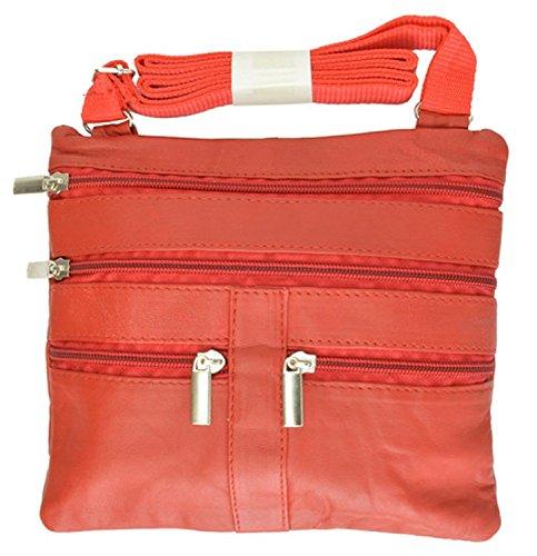 PU Bag Woven Orange SHENGXILU Clasp Ring Leather Crossbody Lady's Women's R4vW8EF