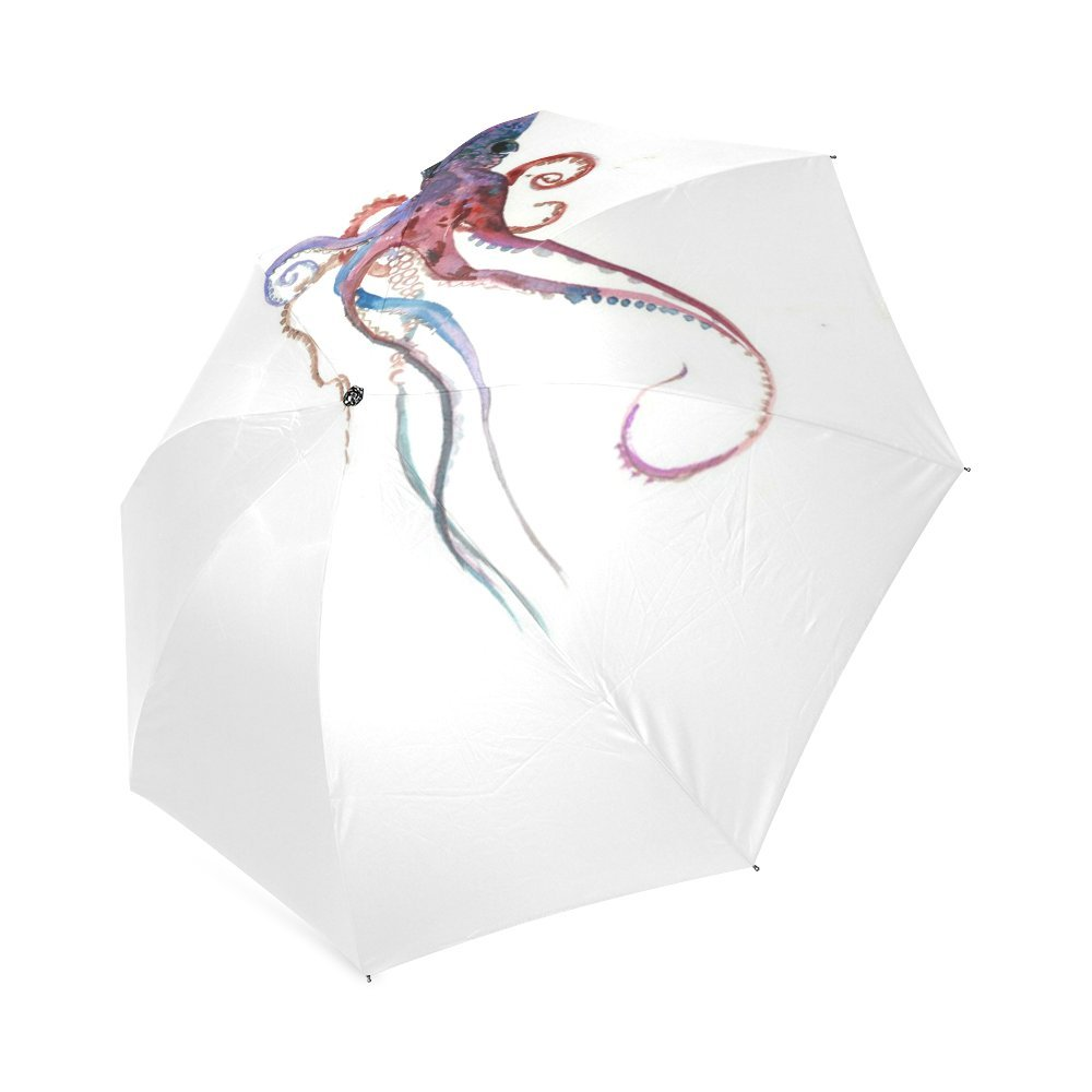 outlet Personalized Colorful Octopus Sun Rain Travel Umbrella Waterproof