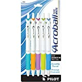 Pilot Acroball PureWhite Retractable Advanced Ink Ball Point...