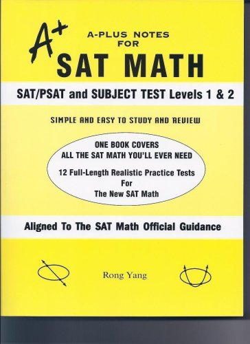 A-Plus Notes for SAT Math