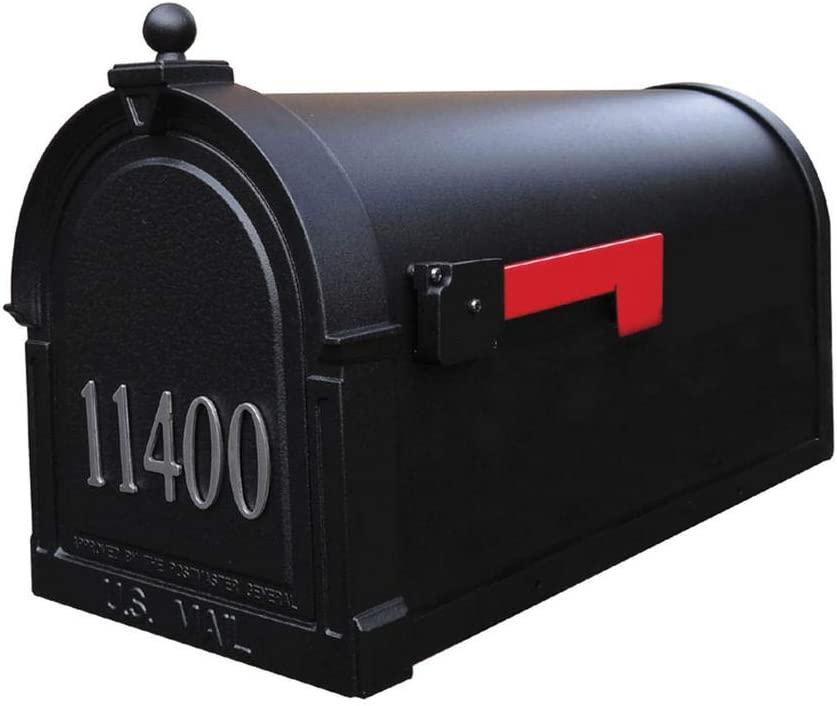 Amazon Com Special Lite Berkshire Curbside Mailbox With Front Numbers Home Improvement