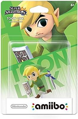 Toon Link amiibo (Super Smash Bros Series): Amazon com: DUAE
