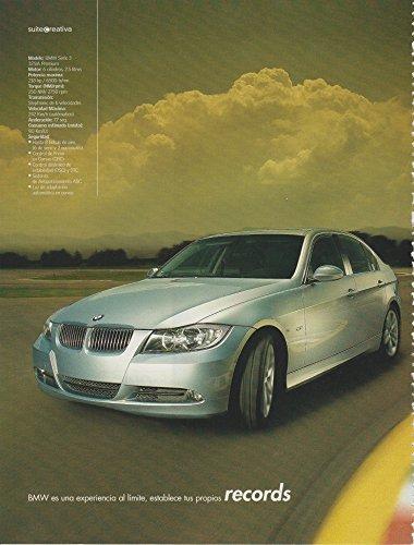 """2005 BMW SERIE 3 325iA PREMIUM SEDAN """"BMW es una experiencia al limite."""