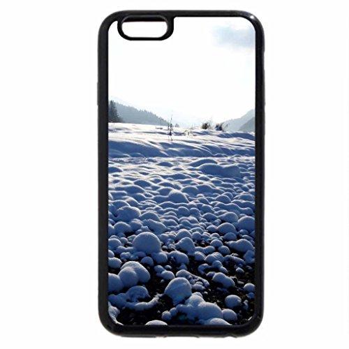 iPhone 6S Case, iPhone 6 Case (Black & White) - snowballs