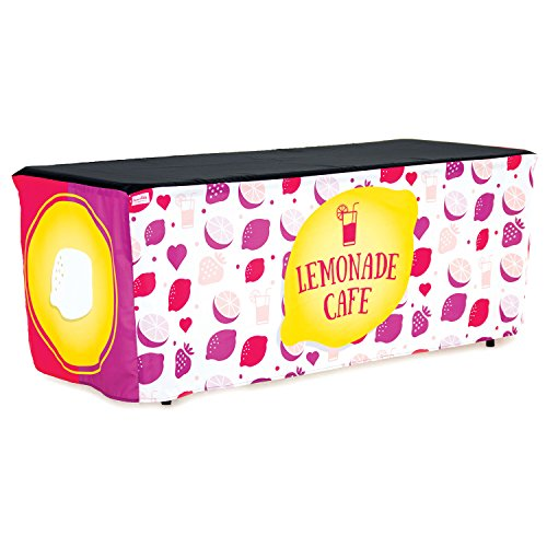 HIDEABOO - Lil' Biz Polyester Easy Lemonade Stand 6' Card Table Cover]()
