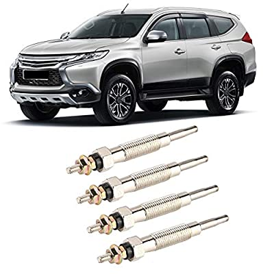 KIMISS 4pcs Diesel Heater Glow Plugs,Metal Material Heater Plugs, Glow Plugs for MITSUBISHI PAJERO SHOGUN 1994-1999 2.8 TD: Automotive