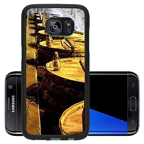 Liili Premium Samsung Galaxy S7 Edge Aluminum Backplate Bumper Snap Case IMAGE ID 32520953 Details of very old wine - Rioja Wine Cellar
