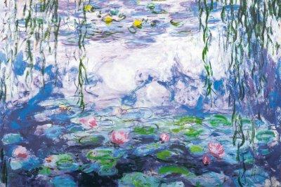 - Nympheas by Claude Monet - 24 x 36 inches - Fine Art Print/Poster Poster Print by Claude Monet, 36x24 Poster Print by Claude Monet, 36x24