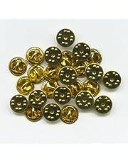 hegibaer 25 gouden sluitingen vlinderclips voor badge pin