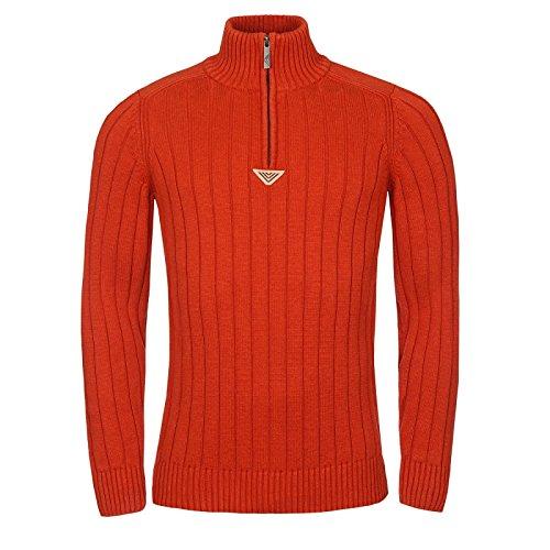 Bushman Herren Sweatshirt CAMERUN - Winter - Urban Bekleidung - 100% Baumwolle - L-3XL - schwarz, Blau, Burgundy, Light Grau