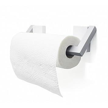 Balvi Support à essuie-Tout Magneto Couleur Blanc   Gris Porte Rouleau  essuie-Tout c92d1cbbe8fa